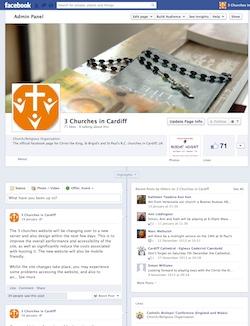 3 churches on facebook