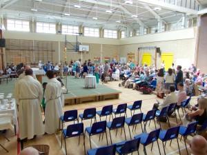 3 churches mass